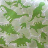 Tnt Estampado Dinossauro Decoração 1,4m X 2 Metros