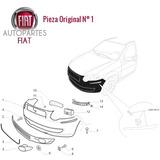 Paragolpe Trasero Con Pintura Primer Fiat Siena Original®