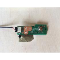Placa Botão Power Cce Win D35b 45r-a14014-0101 A14im02