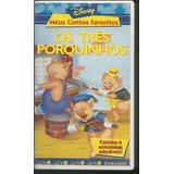 Filme Desenho Animado Os Três Porquinhos Vhs Dublado