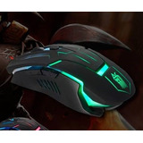 Mouse Gamer Multicolor Led - 7 Botones - 1600 Dpi