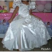 Disfraz Vestido De Giselle Disney Encantada Niña Talla 5/6