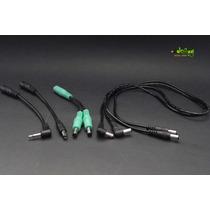 Pack Adaptadores Y Cables Dc Para Fuente De Poder De Pedales