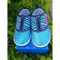 Zapatos De Niñas Motivo Magallanes Talla 24 Marca Jump
