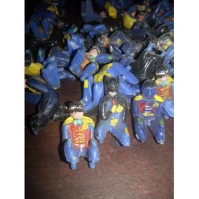 Par De Muñequitos De Batman Y Robin ,murcielancha Bichi