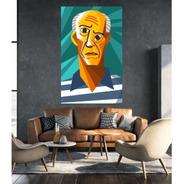 Cuadros Decorativos Y Personalizados- Picasso- 60x90 Cm.