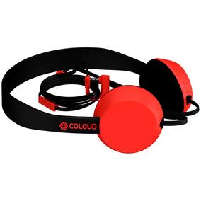 Auriculares Coloud Knock Blocks Rojo