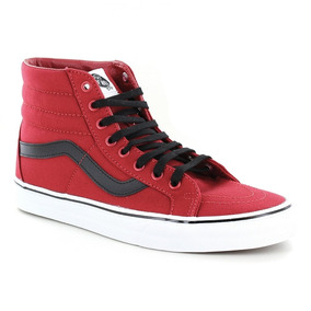 Tênis Vans Sk8 Hi Reissue Canvas Chili Pepper Black