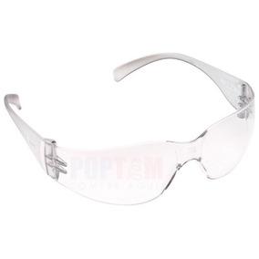 Óculos Segurança Epi 3m Virtua Incolor Proteção Trabalho