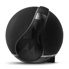 Bocina Con Audifonos Motorola Sphere 2-1 Negro Bluetooth