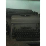 Maquina De Escribir Marca Remington Antigua