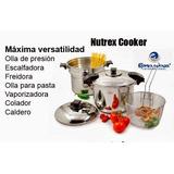 Olla A Presión Rena Ware 9 Litros 5 Piezas Nutrex Cooker