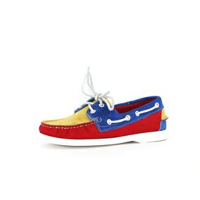 Zapatos Nauticos Mocasines Peskdores Tricolor T0008