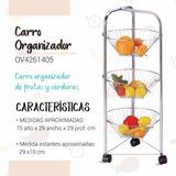 Carro P Frutas Y Verduras Mueble D Cocina Bajo Mesada C