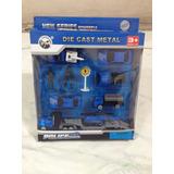 Set Carritos,camion,moto,gandola Metal/plastico Cast Die