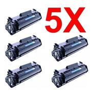 Kit 5 Peças Toner Compatível Q2612a Q2612 2612a 2612 12a