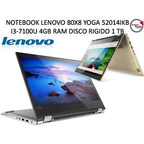 Notebook Lenovo 80x8 Yoga 52014ikb I3-7100u 4gb Ram Disco Ri
