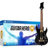 Juego Guitar Hero Live + Guitarra Ps4