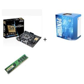 Kit Processador Intel G4560 Placa Mãe Asus H110m-k + Memoria