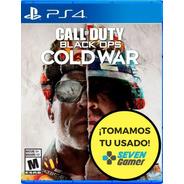 Call Of Duty Black Ops Cold War Ps4 Fisico Sellado Original