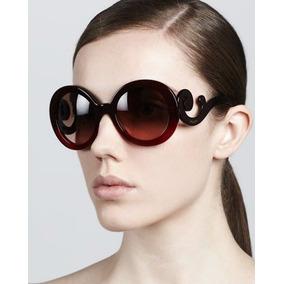b3753ea5df722 Oculos Prada Baroque Quadrado Preto - Óculos De Sol no Mercado Livre ...