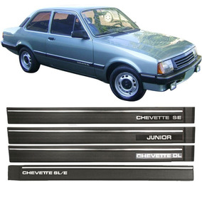 Kit Friso Lateral Chevette Sle Se Sl Dl Junior 87/94 6 Peças