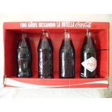 Botellas Coca Cola Company 100 Años Besando La Botella
