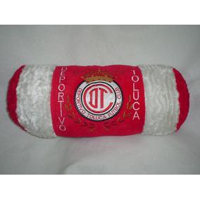 Almohada De Toluca Bordada 56x20 Cms Nueva Y De Calidad
