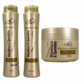 Kit 12 Shampoo 12 Condicionador E 12 Máscara Mandioca Belkit