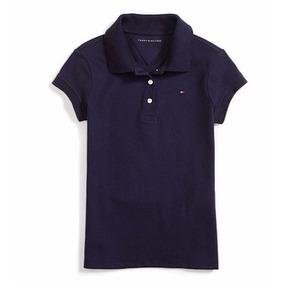 Camisa Polo Menina Tommy Hilfiger Infantil Original