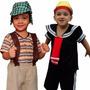 Fantasia Do Chaves E Quico / Kiko Infantil Turma Do Chaves