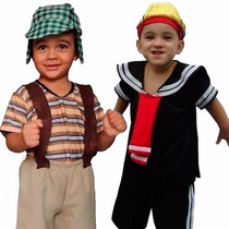 Fantasia Do Chaves E Quico / Kiko Infantil Turma Do Chaves