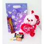 Peluche Chocolates Combo Dia De Los Enamorados