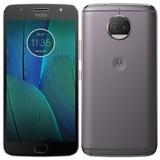 Smartphone Motorola Moto G5splus,dual,platinum,13 Mp,32gb