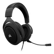 Headset Gamer Corsair Hs60 Carbon Com Microfone