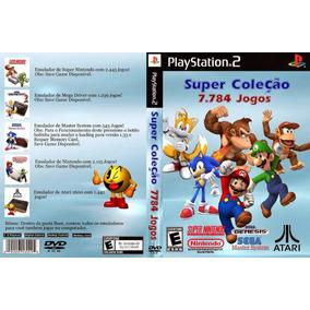 Super Coleção 7.784 Jogos - Ps2 Gold Original