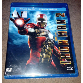 Iron Man 2 Dos Marvel En Bluray + Dvd (envio Gratis)