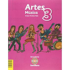 Libro Pack Artes Música 3 Secundaria Integral Santillana