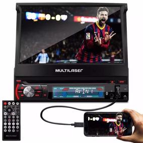 Dvd Retratil 7pol Multilaser Extreme 1 Din Gps Tv Usb Outlet