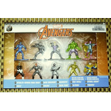 Marvel Avengers Nano Metalfigs Paquete De 10