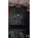 Mixer Numark 101 Usb Permuto X Caja Graves 15