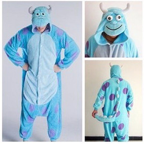 Pijama Mameluco Disfraz Cosplay Sollivan Monster Inc Xtreme