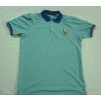 Chomba Polo Ralph Lauren Multicolor Pony Original 100% Pique