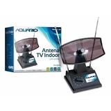 Antena Tv Interna Mini Parabólica Tv-350 Aquário Original