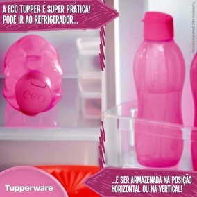 Eco Tupper Garrafa Plus 1l Tupperware - Consulte Cor Dispon.