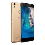 Celular Libre Tecno Cx Dorado 16mp 3gb Ram 4g Screen & Case