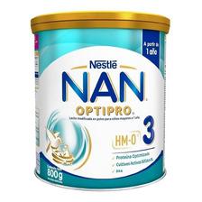 Leche De Fórmula En Polvo Nestlé Nan Optipro 3  En Lata  800g