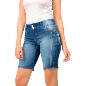 Bermudas Jeans Femininas Azul marinho em Santa Catarina no Mercado ... c62f8ad5844