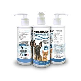 100% Puro Omega 3, 6 Y 9 De Aceite De Pescado Para Perros Y