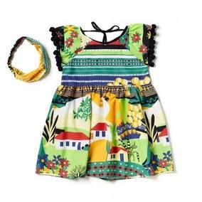 Vestido Casa No Campo Pompom - Camu Camu